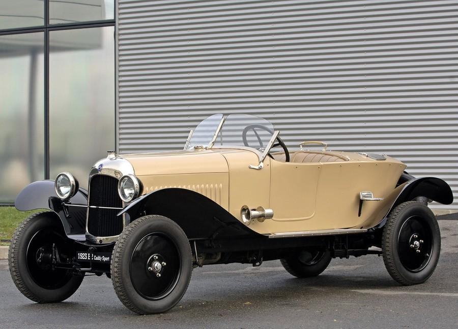 10 HP Type B2 Torpedo Sport Caddy