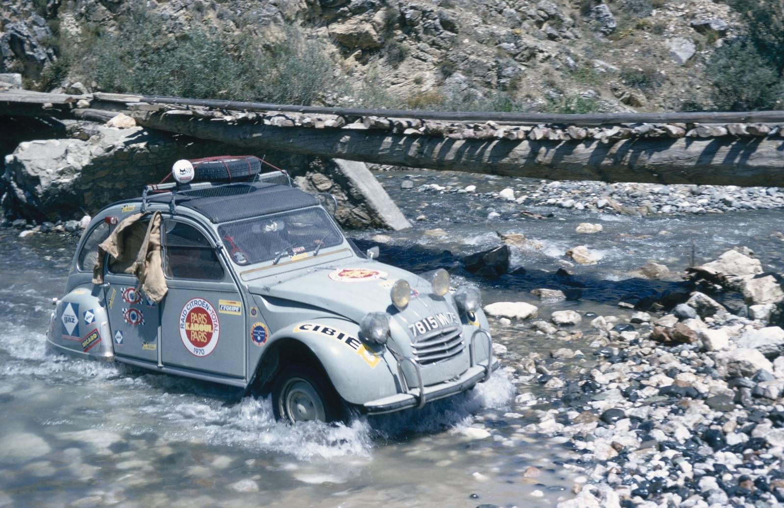 2CV Paris Kaboul του 1970