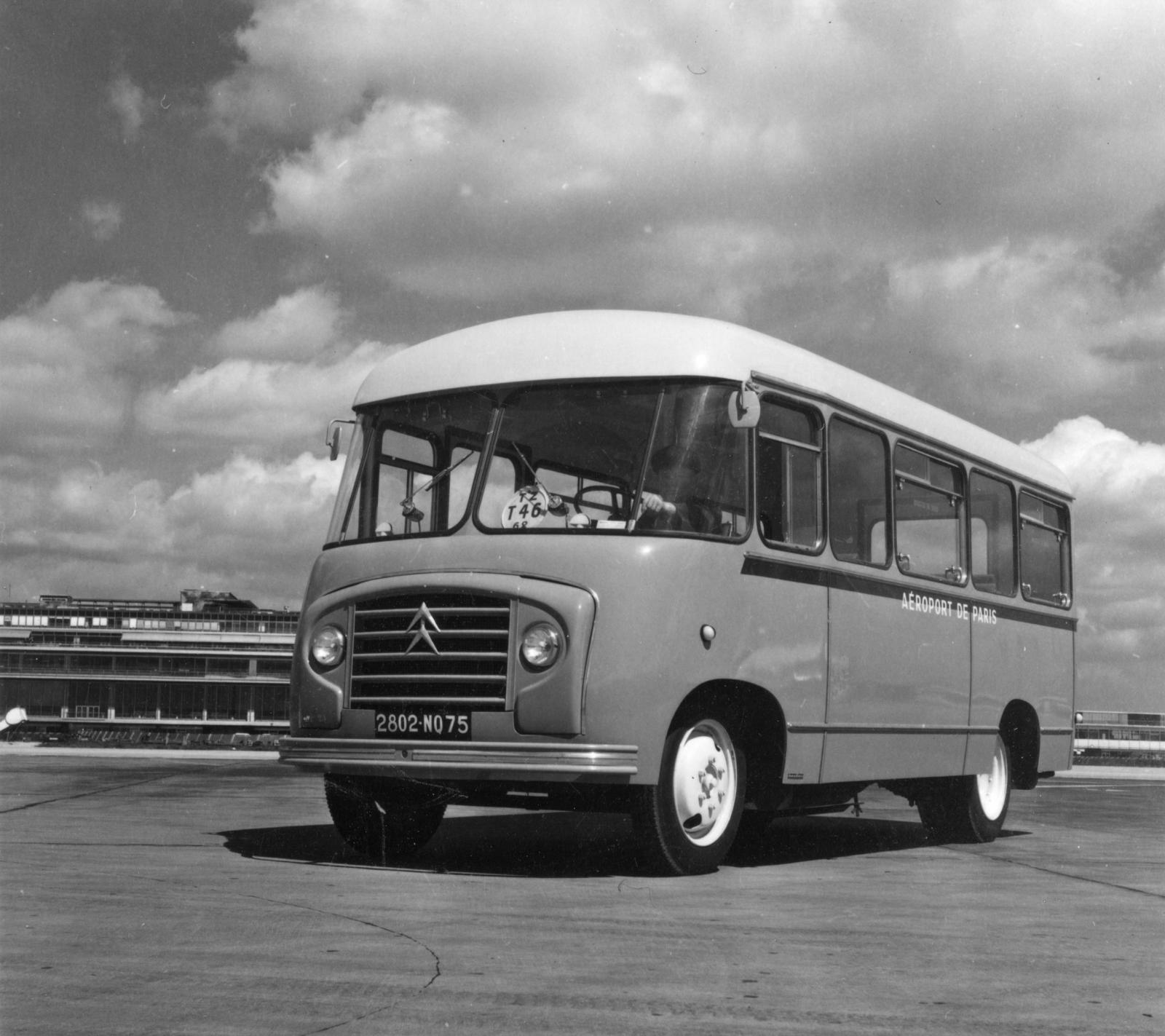 Aéroport de Paris Citroën Bus