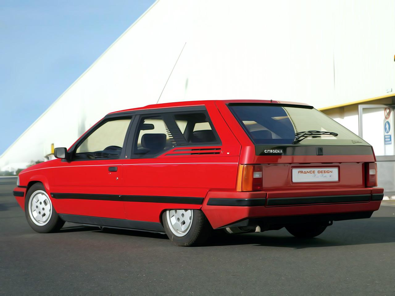 Dyana (Coupé-Station-wagon BX από την Heuliez)