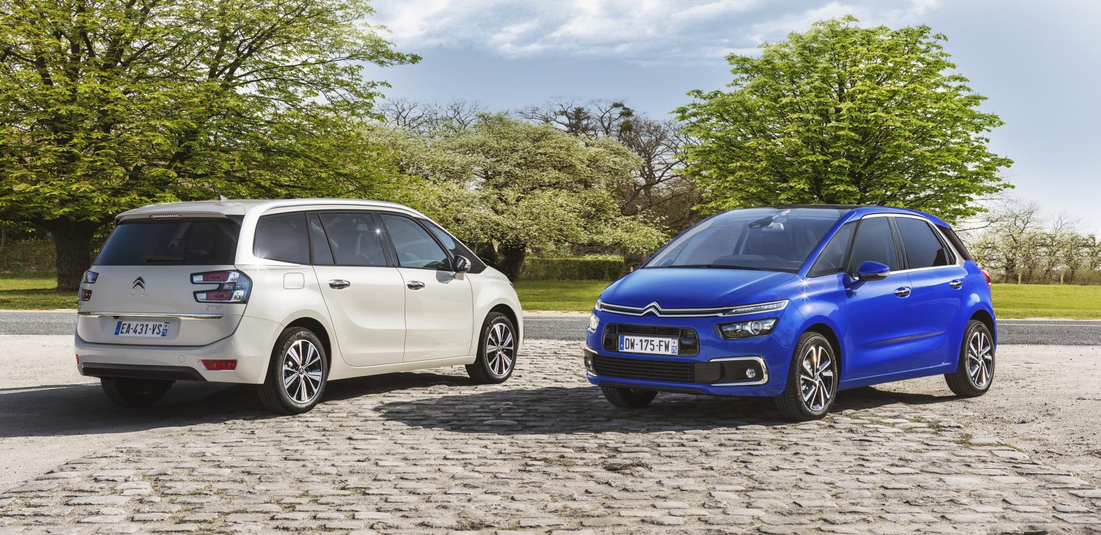 Grand C4 Picasso Shine του 2016 και C4 Picasso του 2016