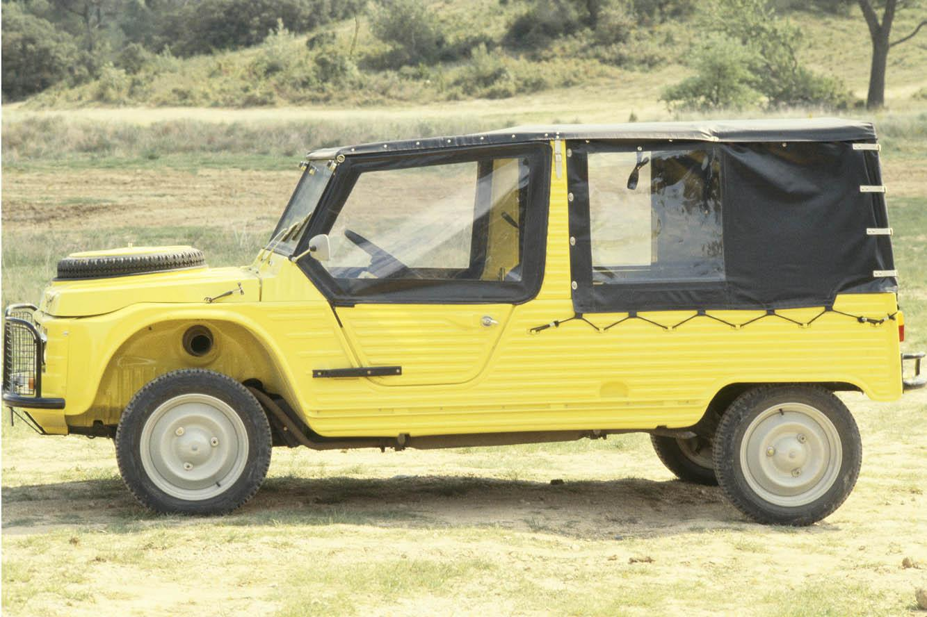 Mehari 4x4 Yellow