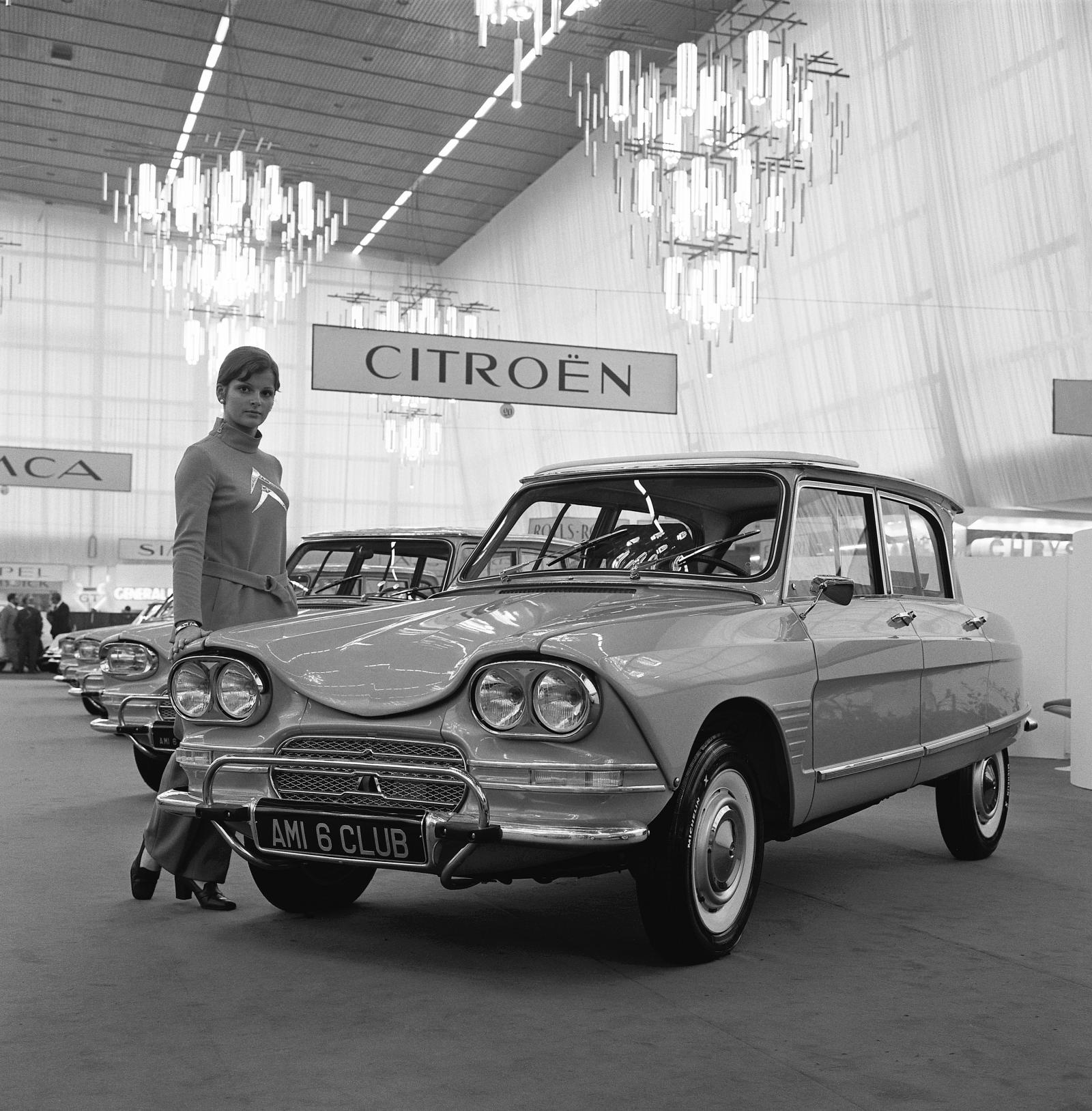Salon de l'automobile, AMI 6 Club του 1966