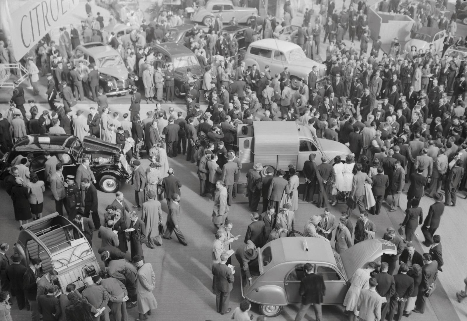 Salon de l'automobile, Οκτώβριος 1951