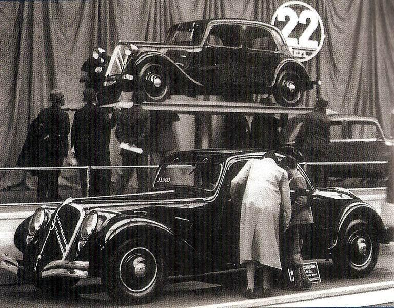 Traction 22B «Faux-Cabriolet» του 1934