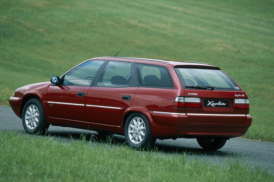 Xantia Break V6 Exclusive 1998 m. galinis ketvirtis